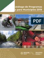Catalogo Programas Federales 2019 Web