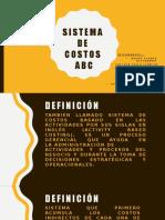 Expo - Sistema de Costos ABC