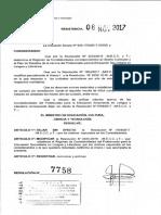 RESOLUCION Nº 07758-17  correlatividades lengua profesorado.pdf