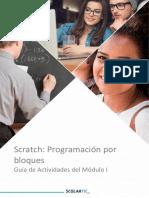 Scratch Programacion Por Bloques Guia de Actividades M1