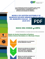 Modelo Gestion RSUR Chacao 2012