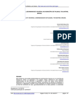 Artigo - Análise Espacial Da Leishmaniose Visceral No Município de Palmas, Tocantins, Brasil1