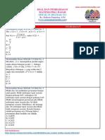 Soal Matematika Dasar SIMAK UI 2014 Kode 511 (Www.catatanmatematika.com)