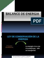 Balance de Energia Procesos i