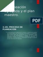 Planeacion agregada y plan maestro