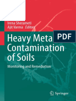 Heavy Metal Contamination of Soil Monitoring and Remediation