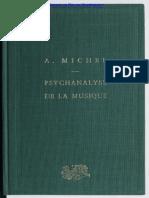 Andre Michel-Psychanalyse de La Musique (1954)