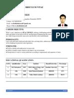 Tahir Qadir Resume