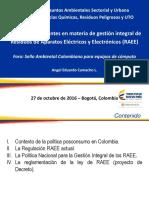 2. Regulaciones Vigentes Relacionadas 1Residuos de Aparatos Eléctricos y Electrónicos (RAEE) - Angel Eduardo Camacho