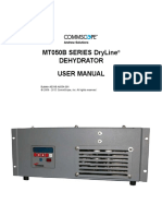 MT050B Series DryLine Dehydrator User Manual Radar