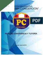 Plan de Convivencia y Tutoria 2019