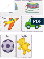 Flash Cards - Pre Kinder