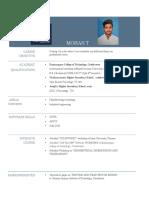 Mohan Resume[1]