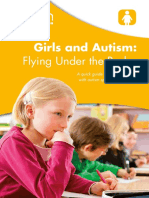 Girls and Autism - Flying Under the Radar