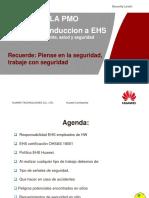 EHS entrenamiento