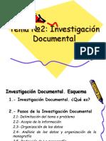 2.- Investigación Documental