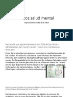 Datos Salud Mental