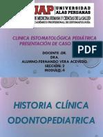 Caso Clinico Thiago