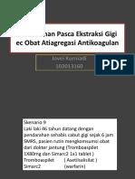 5012_Pendarahan Pasca Ekstraksi Gigi Akibat Obat Atiagregasi Antikoagulan