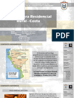 Arq. Residencial Rural - Costa