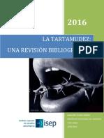 Tesina - Marjorie Tovar - Tartamudez Una Revision Bibliográfica