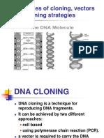DNA Cloning Intro