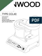 Manual de utilização KCook Multi
