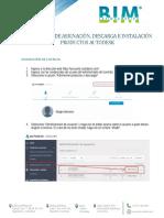 Instalación de Licencias Monousuario - BIM LATINOAMERICA