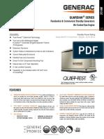 Generac Home Backup Generators 3phase Spec