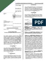 Gaceta Oficial 41639 Decreto 3854