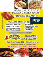 Skina Do Frango Panfleto 2019 Abril