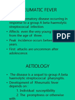 Rheumatic Fever and Rhd 2 for Mls