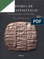 Historia de Las Matematicas en Los Ultimos 10.000 Años