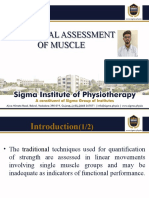 Functional Assessment of Muscle