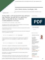 Dcm4chee_ Actualización Del Estado Del Pedido de SPs de Un Artículo MWL a Través de HL7 y Mejor Cumplimiento Con HL7