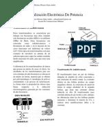Conceptualizacion Electronica de Potencia