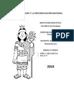 Año Del Diálogo y La Reconciliación Nacional