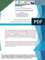 Cuentas Nacionales Y Ejercicio de Balanza de Pagos