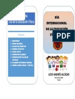 Diptico Cuenta Pública 2018