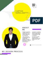 Karthik Portfolio 2019