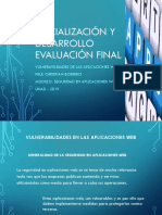 Socialización y Desarrollo Evaluación Final