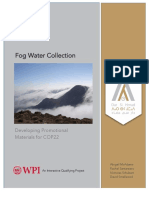 Fog Water Collection