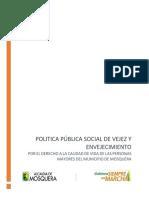 6895 Politica Publica de Vejez y Envejecimiento