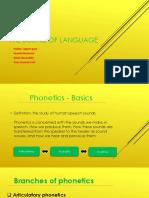 The Sound of Language - Phonetics