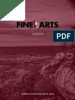 Dade Fine Arts 2018-2019