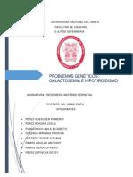 Galactosemia Neonatal