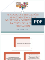 Psicología y Educación - Coll