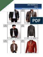 Wholesale Price List _ Men's Leather Jackets & Coats 1
