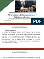 Administración de Remuneraciones - Primera Parte
