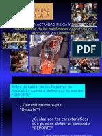 Federaciones y deportes de asociación 2008.ppt